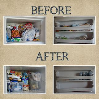 Refrigerator Small Kitchen by How To Organize Your Freezer Real Life Ideas Amp Solutions