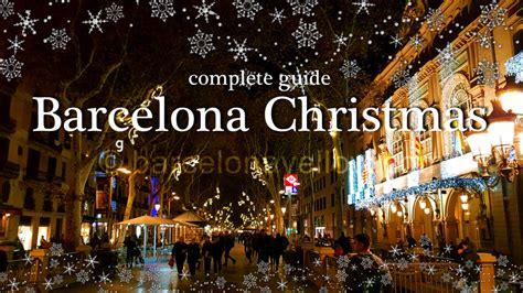 barcelona  barcelona christmas