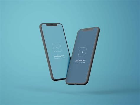 1792 × 828 px created by goodmockups. Free Flying iPhone Mockup PSD 2020 - JustMockup