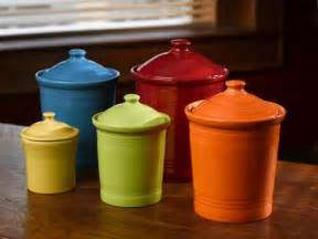 colorful kitchen canisters sets dinnerware 39 s newest color flamingo plus made in usa retro renovation