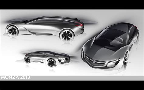 Opel Monza Concept 2013 Widescreen Exotic Car Image #16 Of