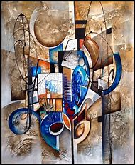 Abstract People Art Paintings