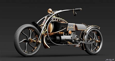 Steampunk Motorcycle : Steampunk Bike