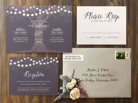 17 best ideas about evening wedding invitations on