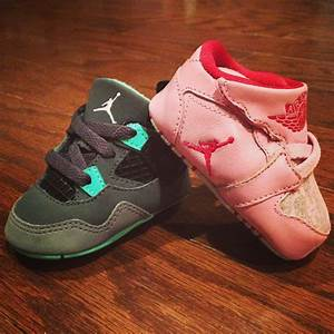 Infant Wearing Jordans ~ Creative Ideas of Baby Cribs