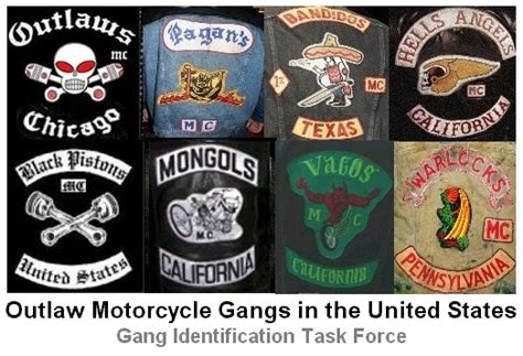 Outlaw Motorcycle Gangs In The United