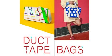 craft book ducttape bags new 39 duct diy book 39 is taking crafting and fashion