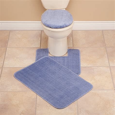 bath rug sets plush bath rug set toilet seat cover and rug set