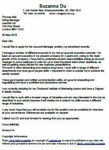 Cv Covering Letters Examples Buyer Cover Letter Example Learnist Org