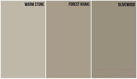 with warm gray undertone house color glidden