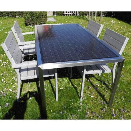 table de jardin 8 personnes solaire table de jardin 8 personnes 310 watt solarenergy