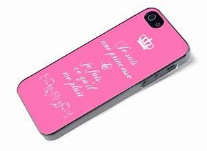 Coque Iphone 5 : coque iphone 5 5s je suis une princesse master case ~ Teatrodelosmanantiales.com Idées de Décoration