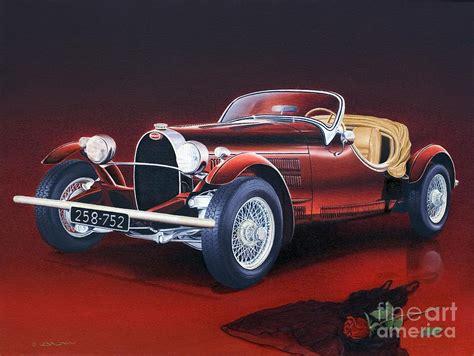 Bugatti. Italian Exotic Car By Miki Karni