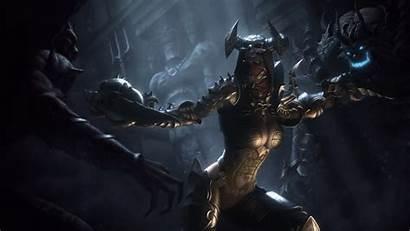 Diablo Demon Hunter Iii Desktop Backgrounds Wallpapers