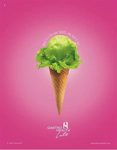 Ice Cream Gastro Creative Ads Advertisement Lite