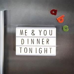 Tableau Lumineux Message : petit tableau de message lumineux personnalisable a6 sur kas design ~ Teatrodelosmanantiales.com Idées de Décoration