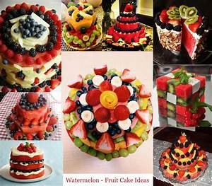 Watermelon Fruit Cake Ideas | Random EyeCandy (Beautiful ...