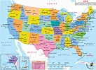 Usa Map With States And Cities Google Maps   Printable Map