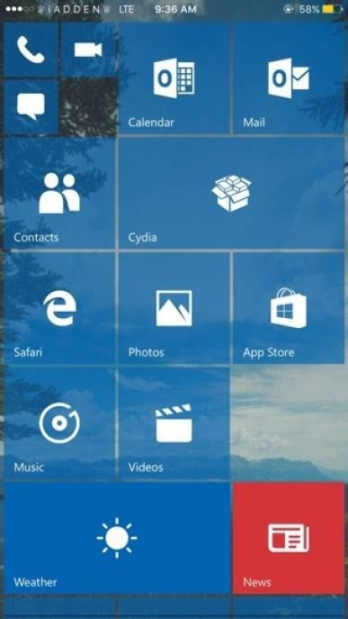 mobile cydia get windows phone for iphone with redstone cydia tweak