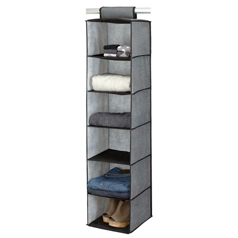 Simplify 6shelf 17 In Grey Sweater Organizer25427grey