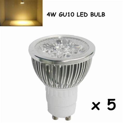 5w led gu10 bulb cree cob gu10 spotlight with 50w halogen
