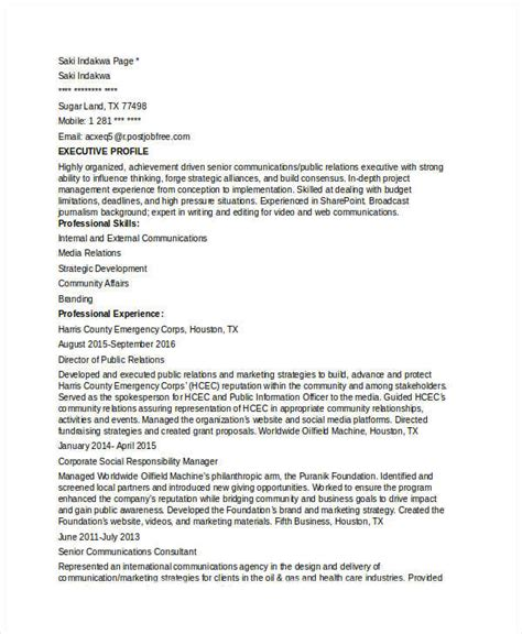 Marketing Communication Director Resume by Marketing Resume Sles For Successful Hunters