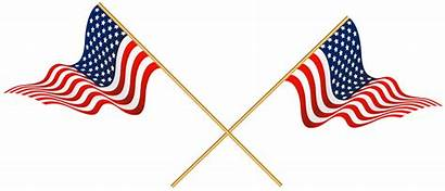 Flag Transparent Flags Crossed Clipart Usa Clip