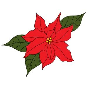 poinsettia clipart image poinsettia flower