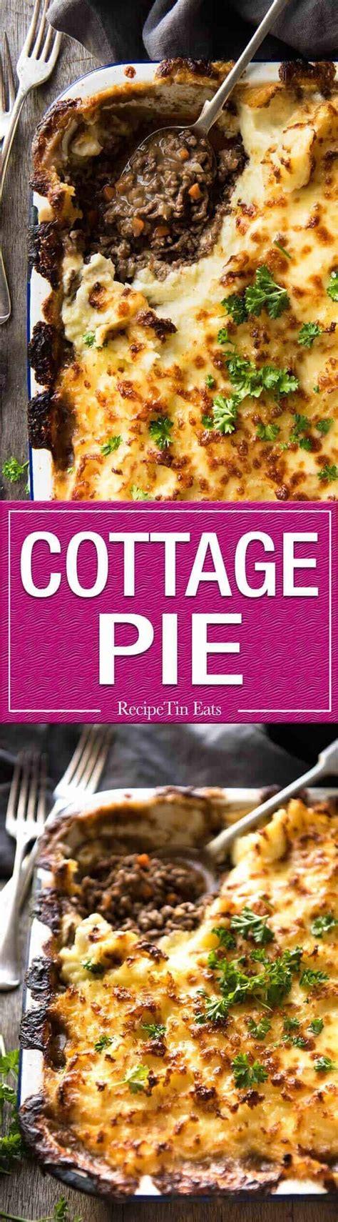 classic cottage pie recipe cottage pie recipetin eats