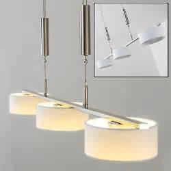 led design leuchten design led wohn zimmer leuchten esszimmer len hängeleuchte höhenverstellbar eur 89 99