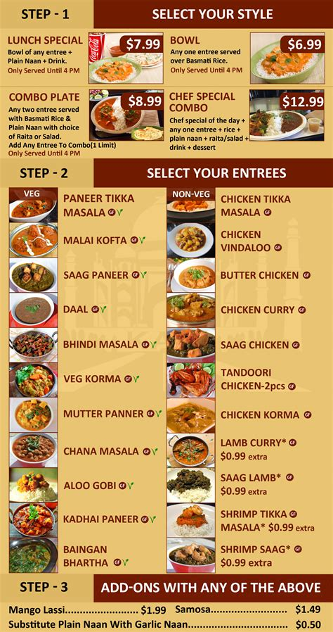 indian cuisine menu indian food menu fresh fast indian food kasi