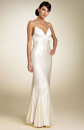 mary  couture bias cut gown nordstrom