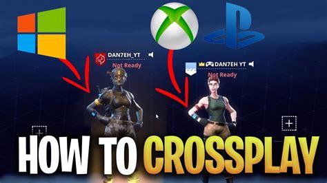 crossplay fortnite  xbox  pc  ps