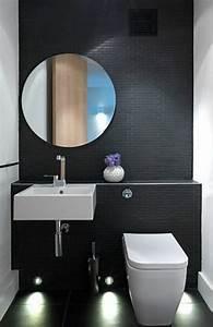 Décoration Murale Salle De Bain : la salle de bain noir et blanc les derni res tendances ~ Teatrodelosmanantiales.com Idées de Décoration
