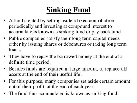 sinking fund formula math unit 4 simple and compound interest