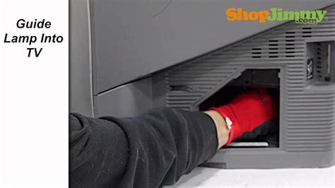sony dlp tv repair red blinking light   replace