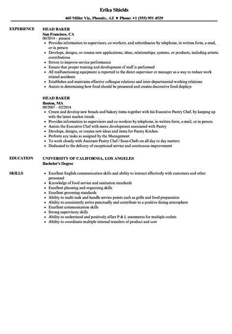 find cover letter for baker baker resume skills entry level baker resume pretty baker