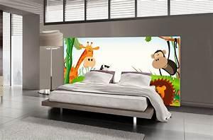 Tete De Lit 120 : t te de lit jungle textilvision ~ Teatrodelosmanantiales.com Idées de Décoration
