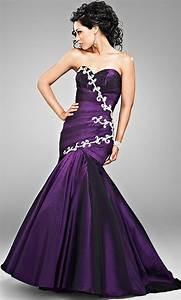 romantic purple mermaid wedding dresses cherry marry With purple wedding dresses