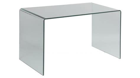 bureau table en verre bureau en verre trempé courbé bureau design