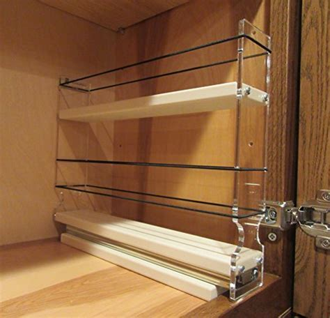 Vertical Spice   2x1.5x10 DC   Spice Rack w/1 Drawer with