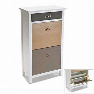 Meuble A Chaussure Fly : meuble chaussure tirroir ~ Teatrodelosmanantiales.com Idées de Décoration