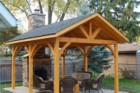 NOTL Gazebo   Timber Frame Solutions Inc.   Niagara Region