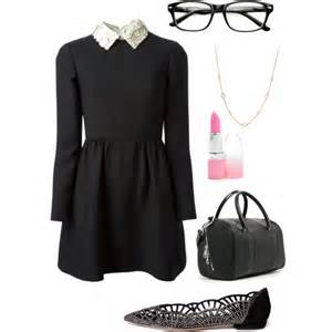 Cute Outfits with Nerdy Glasses