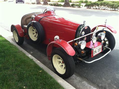 1927 Bugatti Replica Type 35b By Jerred Auto Manufacturing
