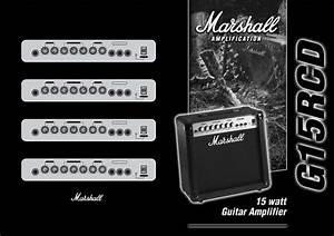 Marshall Amplification Musical Instrument Amplifier G15rcd