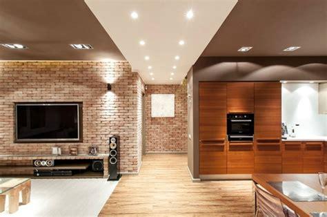 tv dans cuisine la deco loft yorkais en 65 images