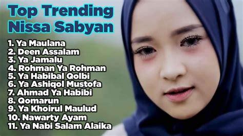 nissa sabyan full album  lagu sholawat terbaru