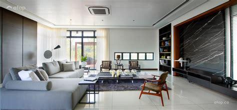 modern  spacious living room ideas   malaysian