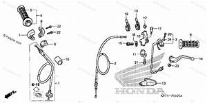 Honda Motorcycle 2003 Oem Parts Diagram For Switch    Cable